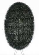 Ритуальные фоны в виде овала